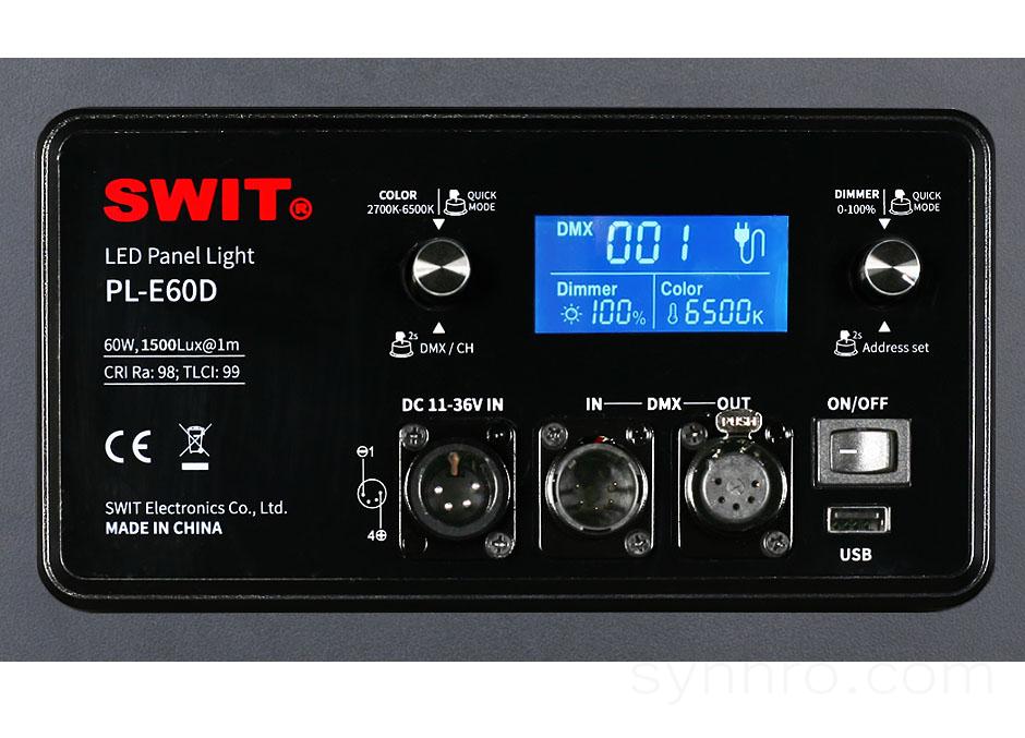 SWIT PL-E60D PLUS