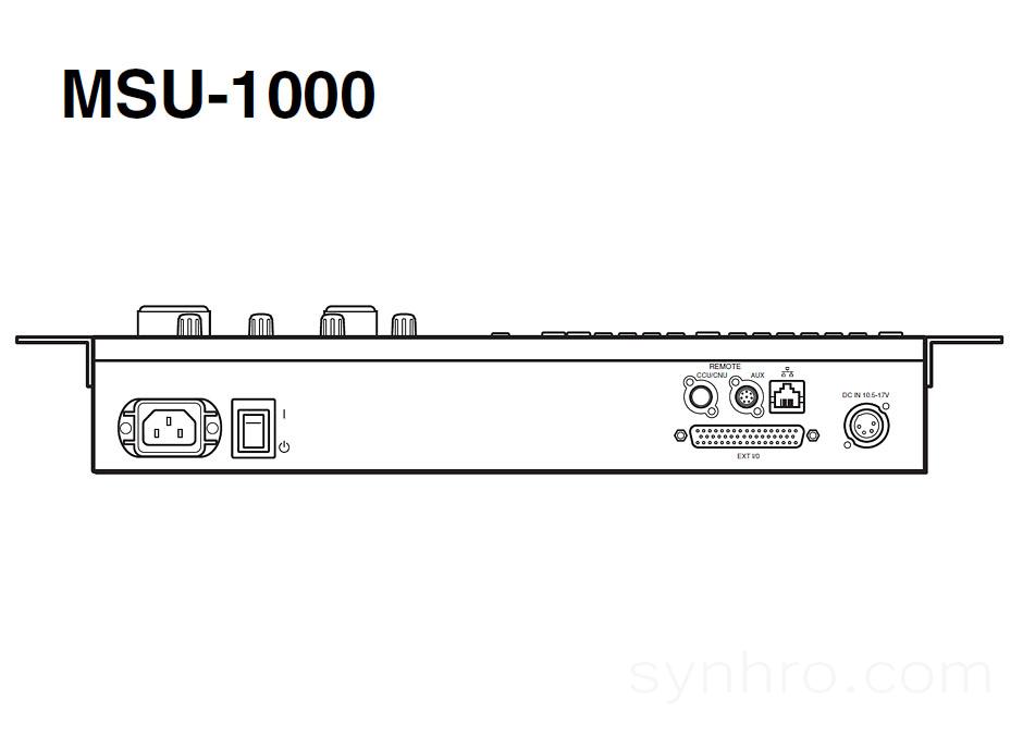 SONY MSU-1000