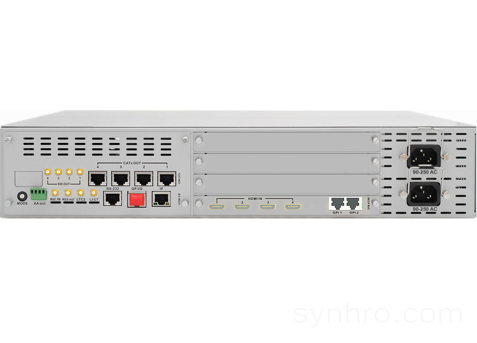 T-Sharp 4x4-HDMI-2RU-C