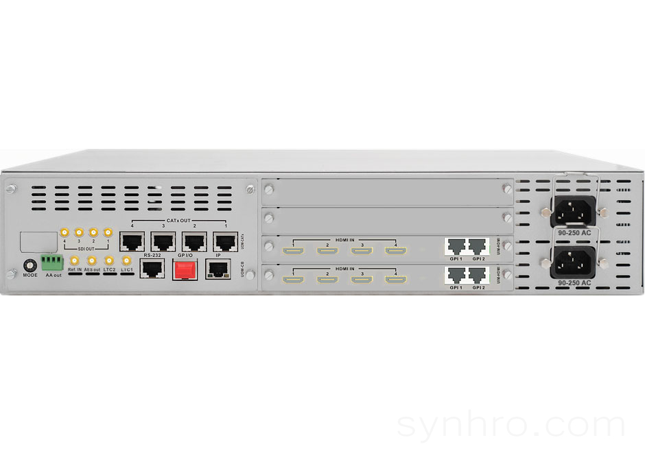 T-Sharp 8x4-HDMI-2RU-C